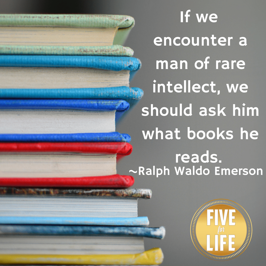 If We Encounter a Man of Rare Intellect, We Should Ask Him What Books He Reads
