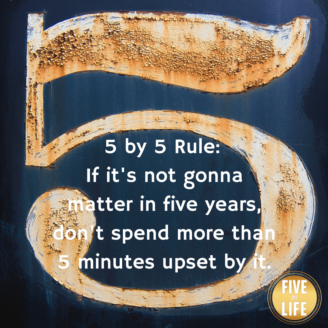 The 5 x 5 Rule