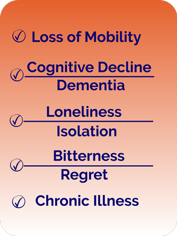 Loss of mobility